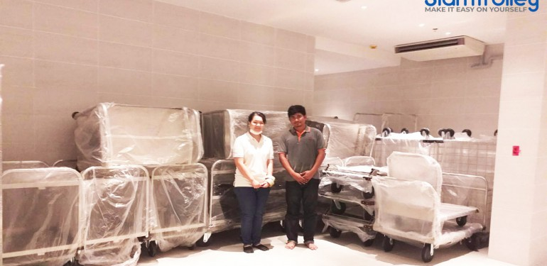 Delivery our goods to Proud Resort Phuket Co.,ltd  at 29 May 2019