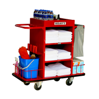 "Stainless Housekeeping Carts""MTS-0511S"""