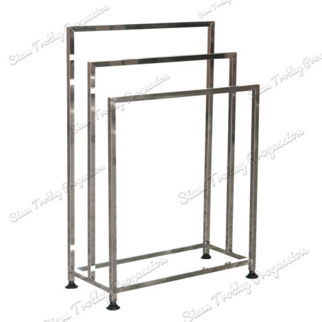 "Stainless Steel Clothes Rack""CRS-0208"""