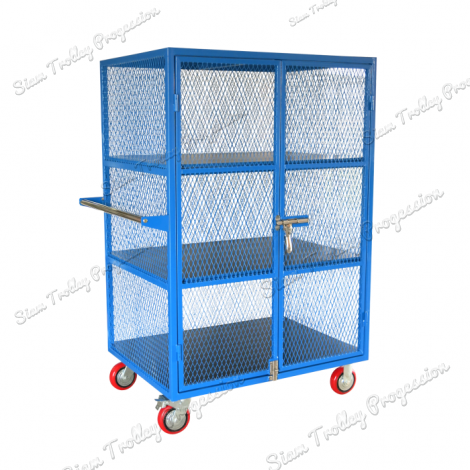 Safety Wire Mesh Container