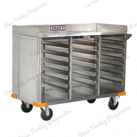 Stainless  Trolley - 3 Tray