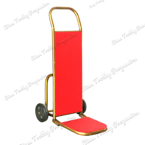 Foldable Gold  Luggage Trolley