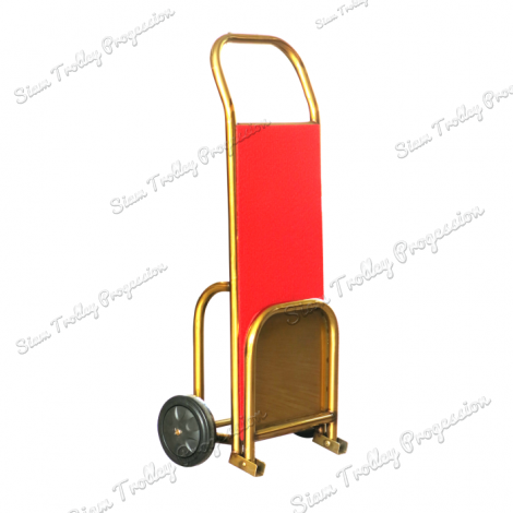 "Foldable Gold  Luggage Trolley""BTS-0407"""