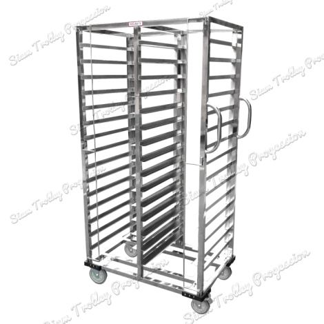Stainless Steel Bakery  Rack Trolley  -  30 Tray