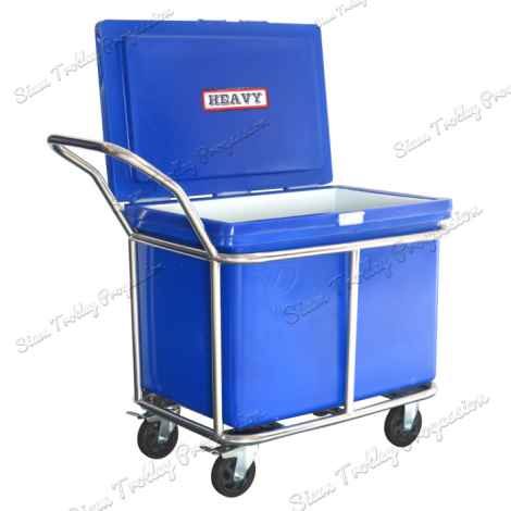 "Stainless Container Cart ""DRT-160"""