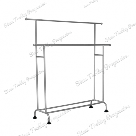 "Stainless Steel Clothes Rack""CRS-0410"""