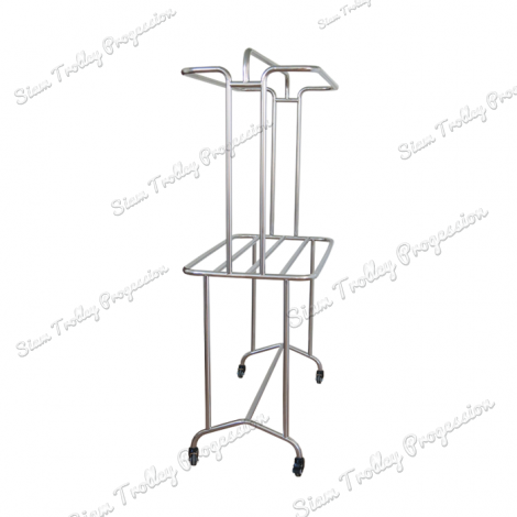 "Stainless Steel Clothes Rack""CRS-0613A"""