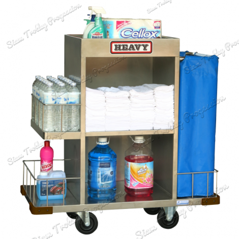 "Stainless Maid Trolley""MTS-0511"""