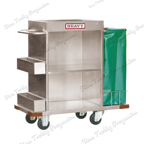 "Stainless Maid Trolley""MTS-0511B"""