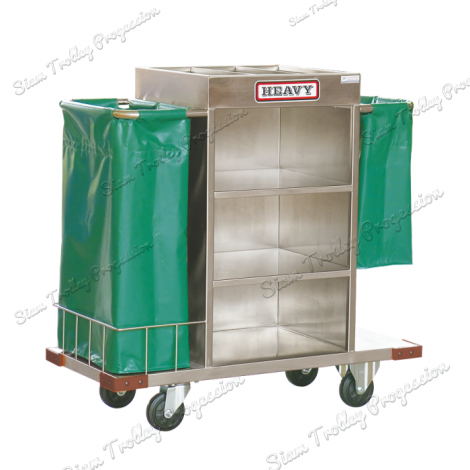 "Stainless Maid Trolley""MTS-0511D/2"""