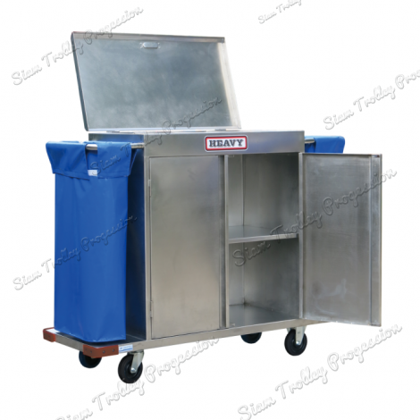 "Stainless Housekeeping Carts""MTS-0511E"""